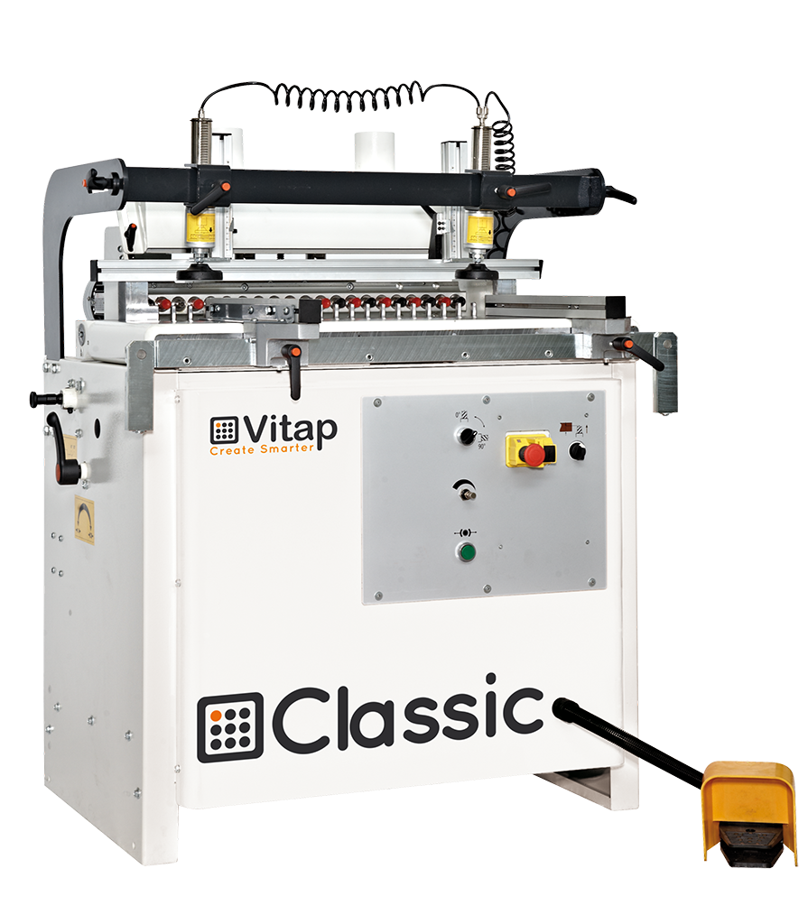 Vitap - Küçük / Orta ölçekli üretimler için çoklu delik makinaları