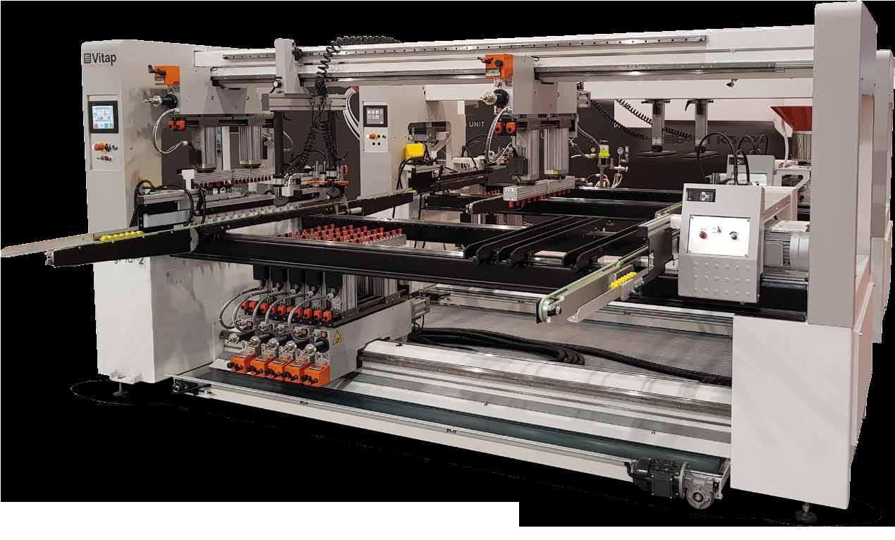 Vitap - Geniş çapta üretimler için çoklu delik makinaları